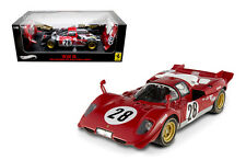 HOT WHEELS ELITE 1:18 AUTO FERRARI 512 S #28 DAYTONA 24 HOURS MERZARIO N2047