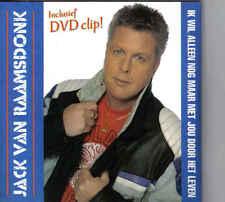 Jack Van Raamsdonk-Ik wil Alleen Nog Maar Met Jou Door Het Leven cd single
