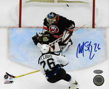 Martin St louis Signed 8x10 Playoff Goal Photo Auto Autograph Steiner Coa