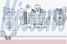 Kompressor Klimaanlage - Nissens 89153