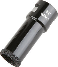"DAMO 1"" Dry Diamond Core Drill Bit/Hole Saw for Granite/Concrete/Stone"