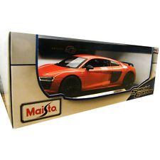 Maisto Audi R8 V10 Plus 1:18 Diecast Model Car Red