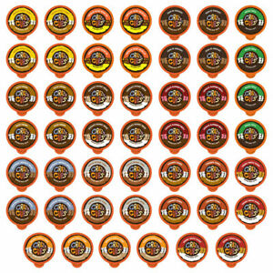 Crazy Cups Chocolate & Flavored Coffee Lovers K cup Variety pack,48 count