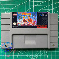 The Flintstones:The Treasure of the Sierra Madrock SNES Video Game USA version