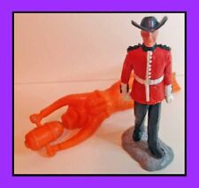 Vintage 2 x Toy Figures - Soldier & Skin-Diver / Frogman TIMPO Lone-Star?