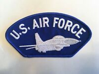 Air Force with Jet Hat Patch Military Cap Patch (Style 1)