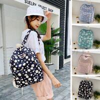 Women Girls Nylon School Backpack Shoulder Bag Bookbag Travel Handbag Rucksack