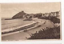 Criccieth Esplanade & Castle 1935 Postcard 808b