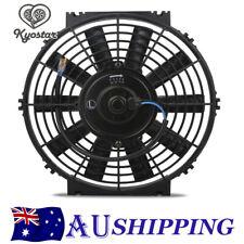 Universal 10'' Slim Fan Push/Pull Electric Radiator Cooling Engine Kit Truck 12V