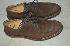 Orvis Men's Lace Up Brown Leather Oxfords Shoes Dress Brown Size 8M OV8055