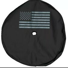 18-20 JEEP WRANGLER JL SPARE TIRE COVER WITH AMERICAN FLAG LOGO OEM NEW MOPAR