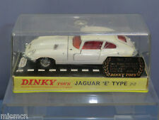 "DINKY TOYS MODEL No.131    JAGUAR ""E ""TYPE 2.2      ""WHITE VERSION ""    VN MIB"
