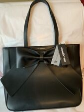 Karl Lagerfeld Paris Authentic Medium Tote New With Tags LH8BZ815 Black