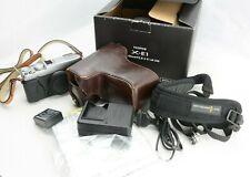 Fujifilm X-E1 16.3MP Spiegellose Digitalkamera, body, OVP (box)