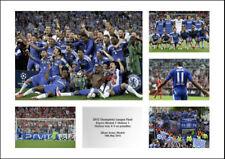 Chelsea FC 2012 Champions League Final Photo Memorabilia (MU5)