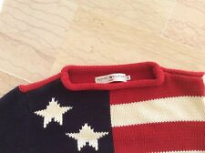 TOMMY HILFIGER: SUPERBE PULL DRAPEAU US TAILLE M, NEUF