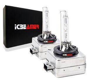 6000K Super White D3R D3S Xenon HID fit Low Beam Replacement Light Bulbs C108