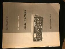 New listing Kenwood Ts930S Instruction Owners Manual