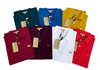 Burberry Brit Men's Short Sleeve Nova Check Placket Polo Shirt