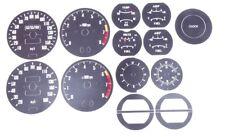 Datsun 240Z 260Z 280Z 70-76 Black Stock Gauge Face Restoration Kit 1546