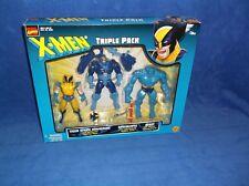ToyBiz 1999 X-MEN TRIPLE PACK Action FIGURES Spy Wolverine,Sabretooth,Cyclops 15
