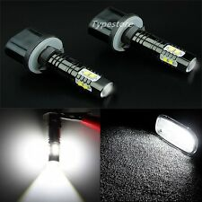 NEW 2x 880 899 50W 6000K White CREE High Power LED Projector Fog Lights Bulbs