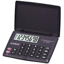 Casio Electronic Calculator Lc-160lv / 8 DIGIT Hand Held Pocket Calc
