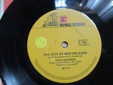 Arlo Guthrie, The City of New Orleans, folk, rare Aust press