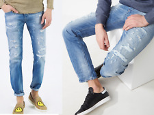 Diesel Buster Jeans Denim Usé 084CM 5 Poches Pantalons Look Usé 33/32