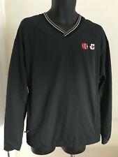 Nike Golf Men's Black Ktc Tournament V-Neck Pullover Size L Large