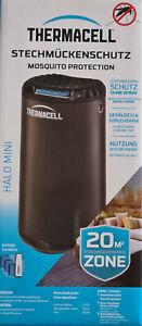 Thermacell Mini Repeller Protect Graphit Black Insektenschutz NEU!