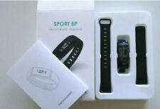 Sport BP Heart Rate Monitor Fitness Watch - Black