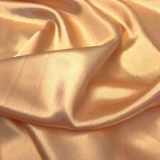 """Charmeuse Bridal Satin Fabric for Wedding Dress 60"""" inches By the Yard Charmuse"""