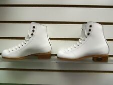 Riedell #30 Gold Medallion Girls 13 Narrow Beginning Freestyle White Boot