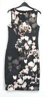 New Monsoon Alberta Floral Print Occasion Pencil Dress - Uk Size 8 - 18