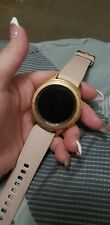 Samsung Galaxy Watch 42mm Rose Gold Stainless Steel Case Pink Classic Buckle - …