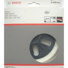 Bosch dur 150mm sablage soutien pad gex 150 ac turbo 125-150 ave 2 608 601 116