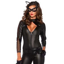 Tenue de Soirée Costume Wicked Kitty Noir Taille L - LEG AVENUE
