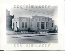 1935 New Municipal Building & Jail Monticello Arkansas Press Photo