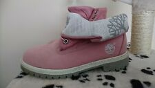 Timberland Pink Ladies Boots Shoes 3 women ladies leather christmas walking 06