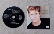 "CD / RICKY MARTIN ""LA COPA DE LA VIDA LA CANCION OFICIAL DE LA COPA 98"" CDS 1998"