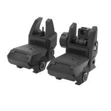 AK Blaster MOD QD Flip Up Front Rear Sight Adjustable Black for Nerf Modify Toy