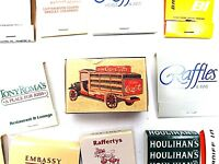 Matchbook Lot of 103 Vintage Coca Cola, Coors GUC Free Shipping & Handling