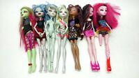 """Monster High Doll Lot Of 7 Lagoona Blue Frankie Stein Draculaura 11"""" Mattel"""