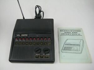 Regency R1050 VHF UHF 10 Channel Scanner  3 Band
