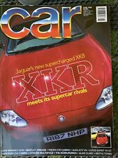 CAR June 1998  XKR, NSX, 840i, AMG, Skyline, Aston DB7, Arnage, GTV V6, Cosworth
