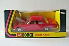 """Corgi No: 286 Jaguar XJ12C"""" - Red"""