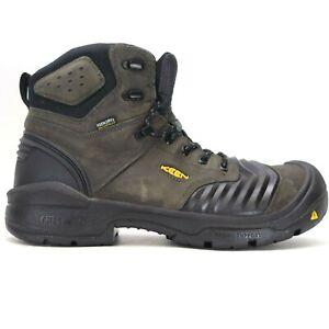 Keen Flex Bellows Portland Mens Composite Toe Work Boots US 13 EE Wide EU 37
