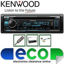 HONDA Civic EP3 KENWOOD CD MP3 USB display MULTI COLORE ARGENTO KIT STEREO AUTO