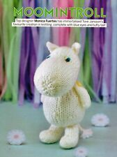 ~ Pull-Out Knitting Pattern For Adorable Little Moomin Toy ~ 6 inches tall ~